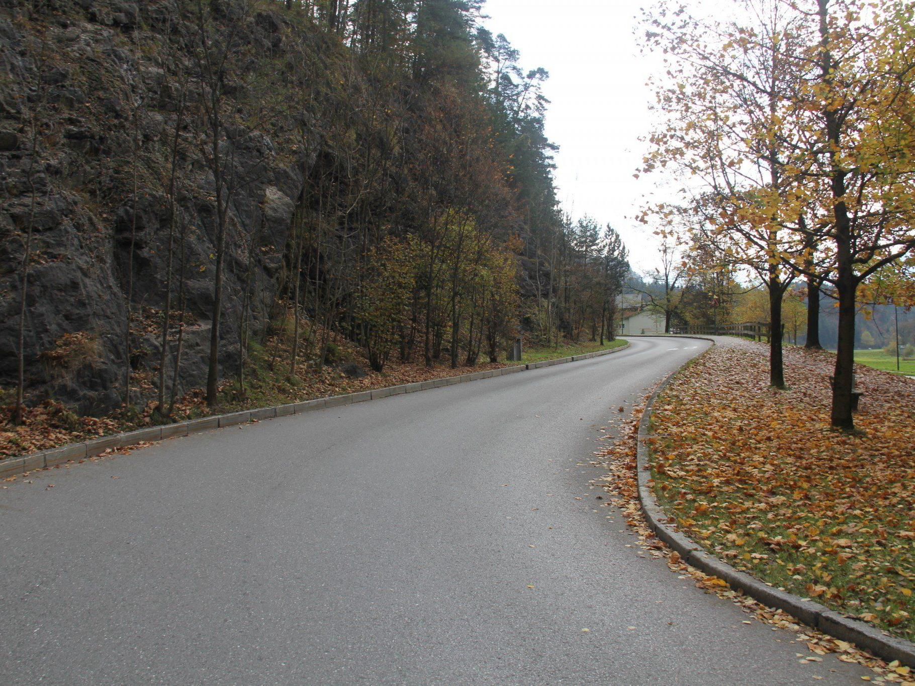 VOL.AT stellt die Straßen Vorarlbergs in einer großen Serie vor. - Im Bild die Valdunastraße.