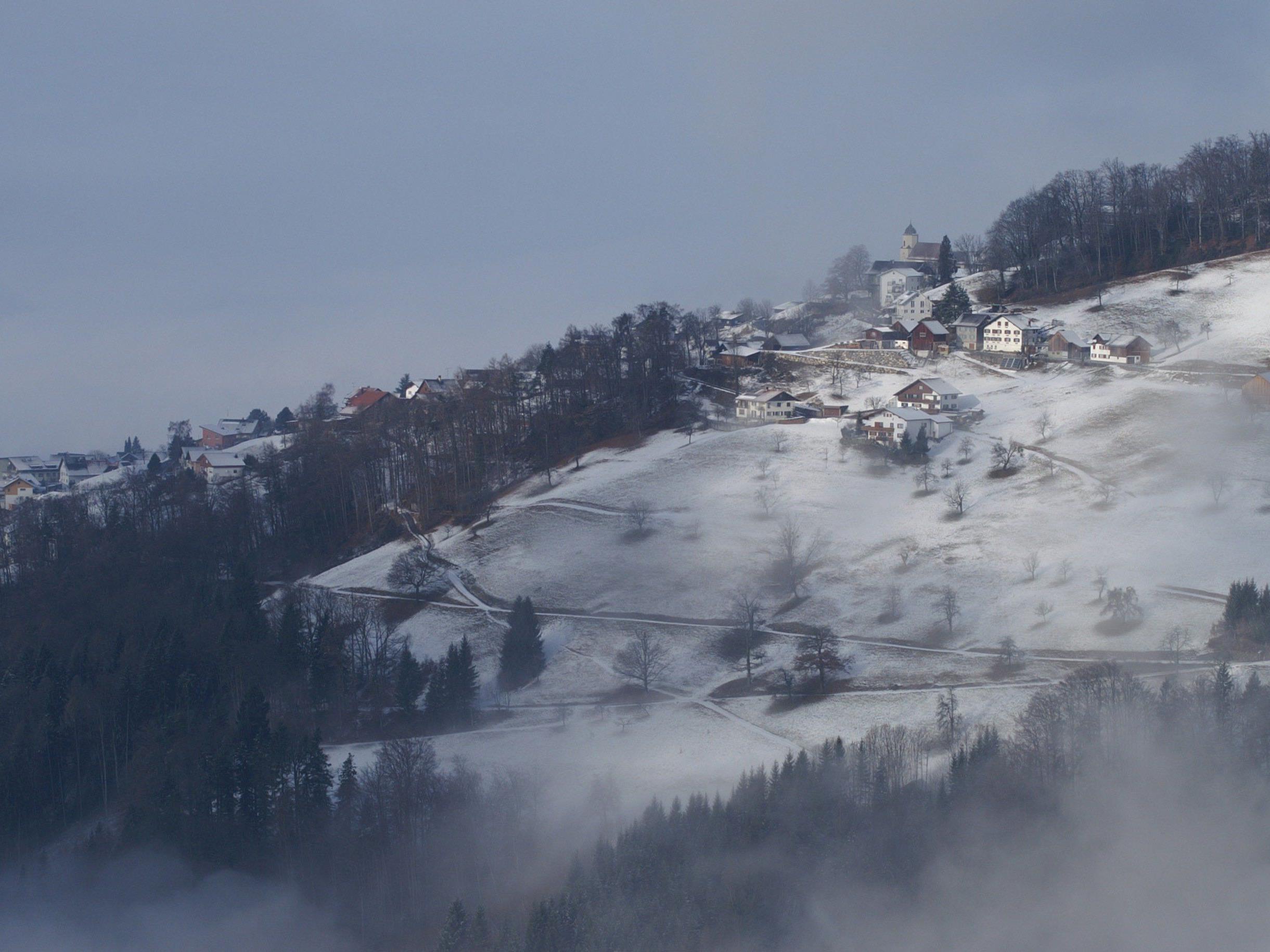 Auch der Advent ist eine Fastenzeit, die die Mönche im Kloster Viktorsberg auch nach bestem Wissen und Gewissen einzuhalten versuchten.
