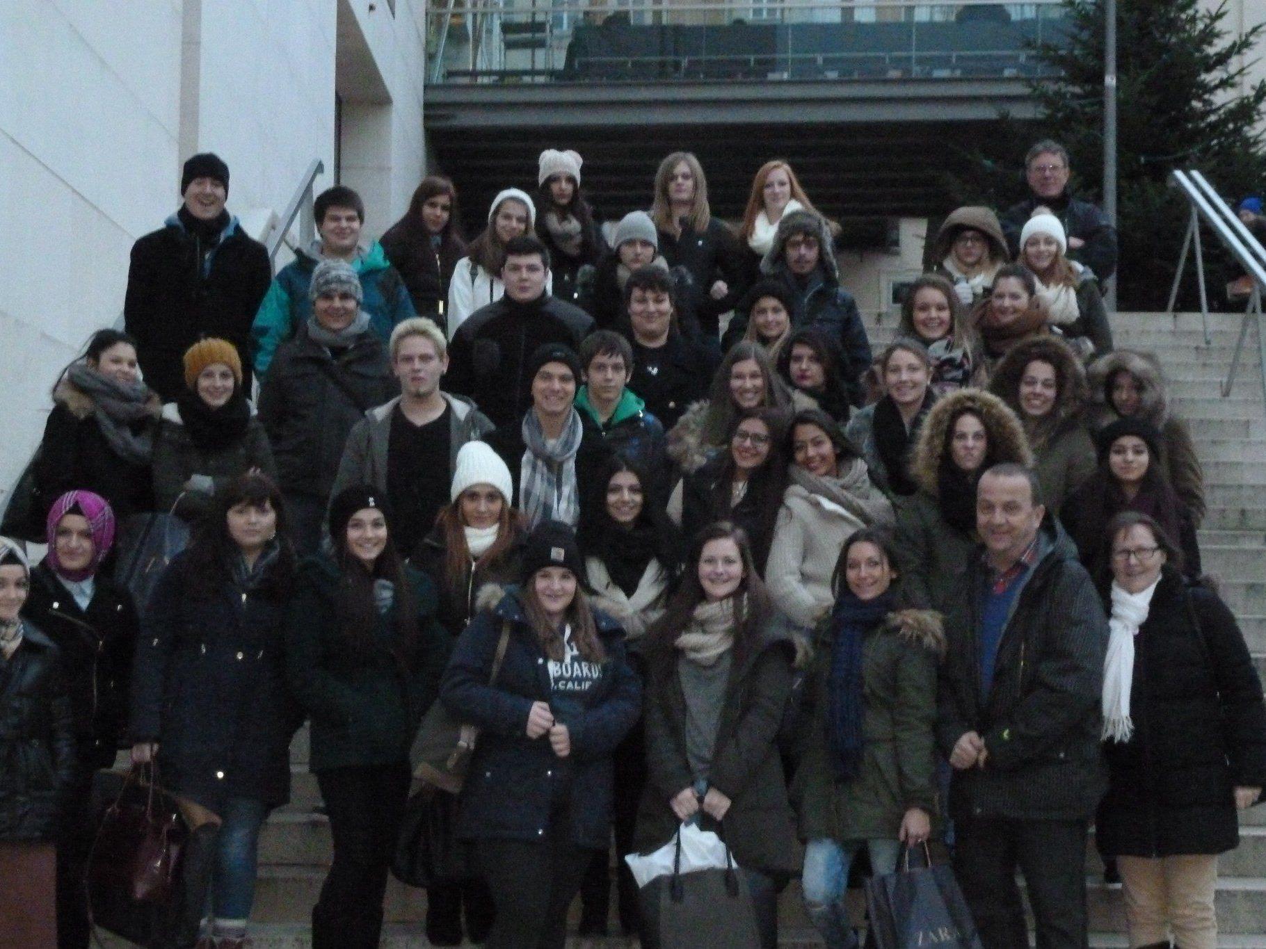 Die SchülerInnen der HTL Dornbirn kehrten von ihrer Wienreise mit vielen tollen Eindrücken zurück.