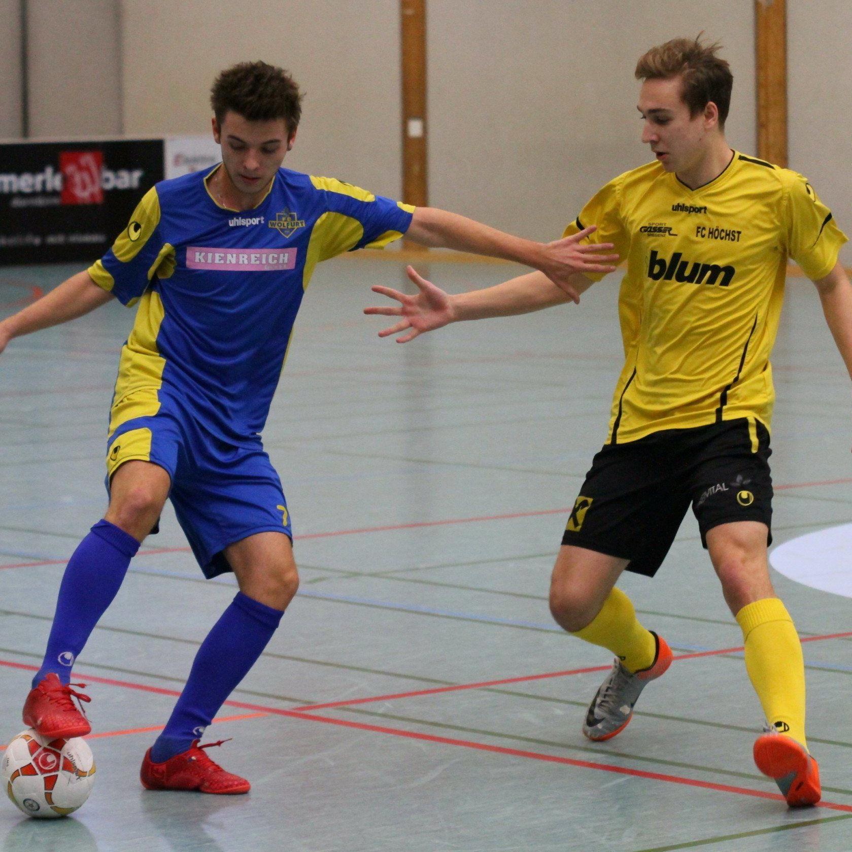 Wolfurt 1b-Kicker Andre Spiegel ist mit seinen Kollegen in allen neun Partien siegreich geblieben.