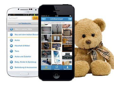 Kaufen und verkaufen ganz einfach übers Handy: Die neue ländleanzeiger.at-App!