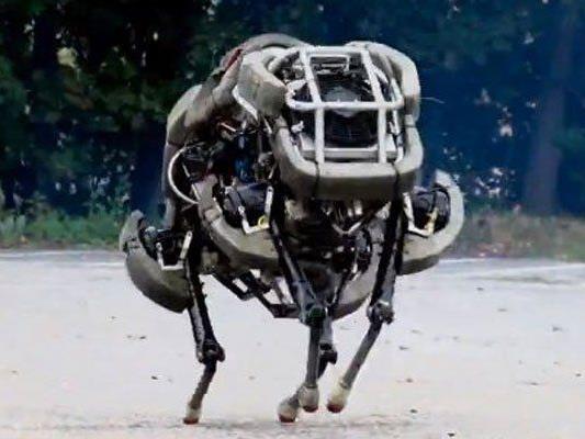 Internet-Konzern übernahm Boston Dynamics.