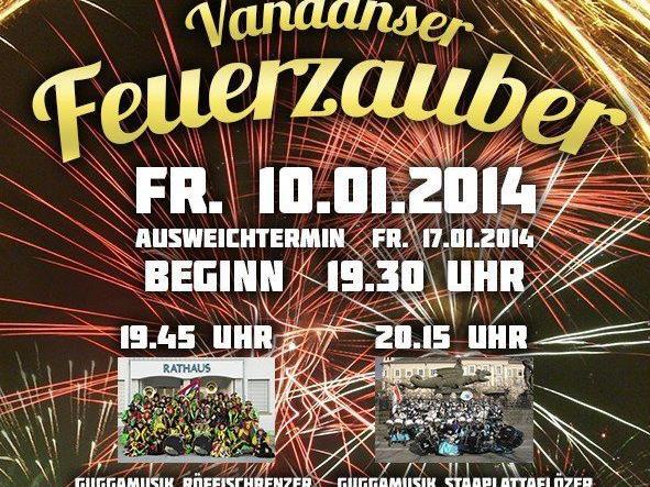 Vandanser Feuerzauber 2014
