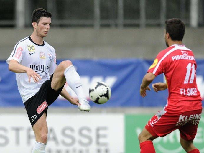 Lukas Neunteufel spielt im Frühjahr für den FC Wolfurt.