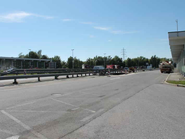 Am ehemaligen Autobahnzollamt gab es zwar heuer sichtbare Veränderungen – aber noch immer keinen Spatenstich für die Nachnutzung.