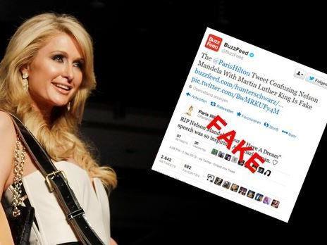 Paris Hilton wurde Opfer eines bösen Scherzes.