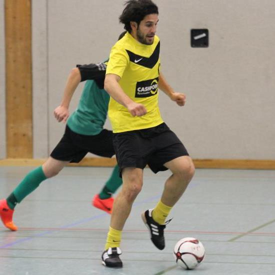 Liechtenstein Nationalspieler Michele Polverino spielt beim Hallenmasters abermals für SC Tisis.
