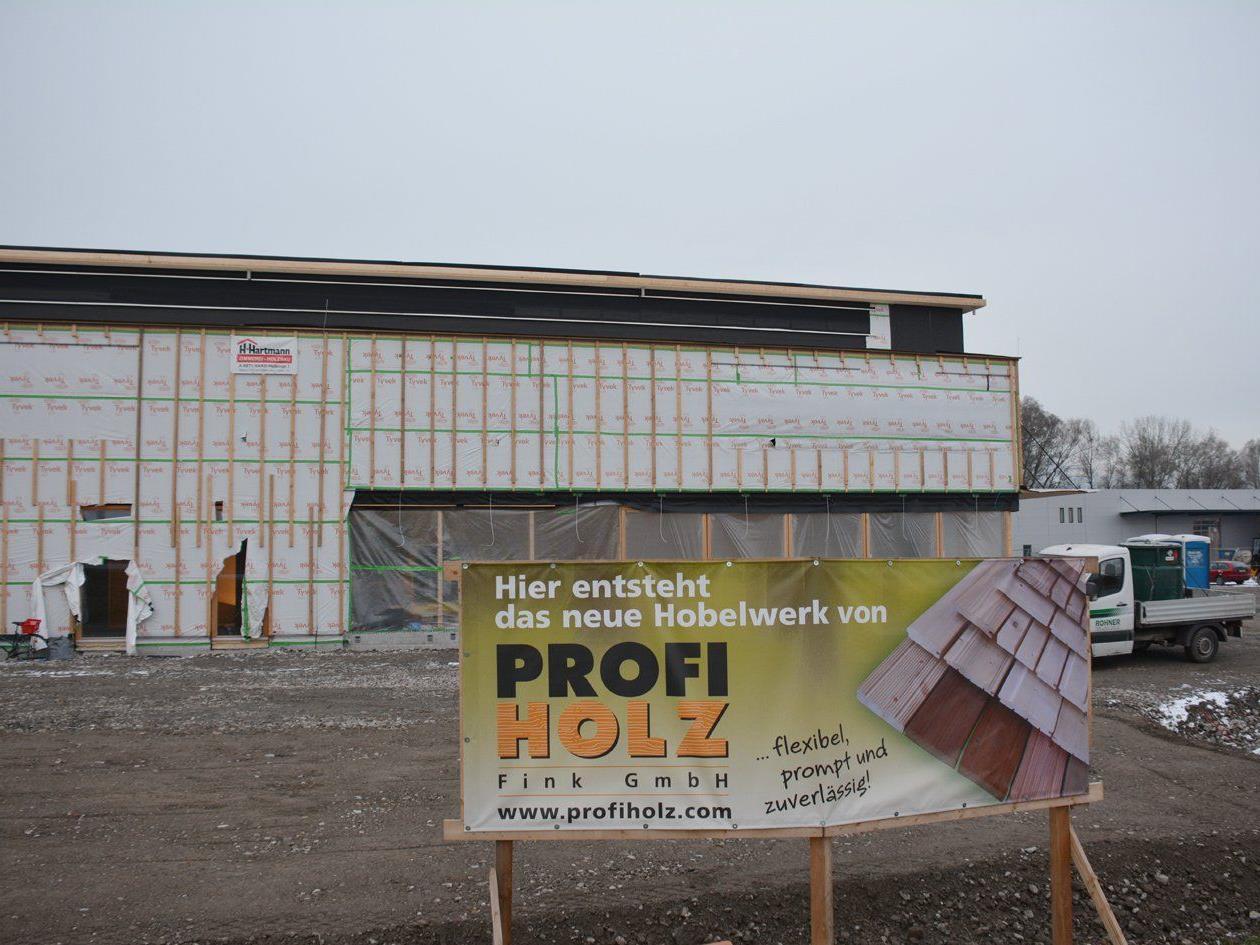 Profiholz errichtet ein neues Hobelwerk in der Lustenauer Straße.