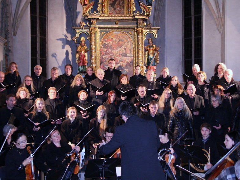 Der 30-köpfige Gioia Chor bot in Götzis und in Bludenz ein Konzert vom Allerfeinsten.