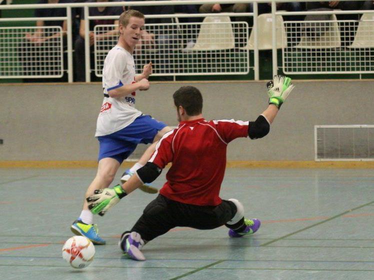 BW Feldkirch wurde zum Abschluss der Vorrunde in der achten Gruppe Sieger und zeigte starken Hallenfußball.