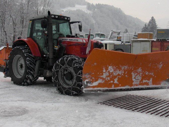 Die Firma Wachter Bau wird im Winter 2013/14 für den Winterdienst in Vandans verantwortlich sein.