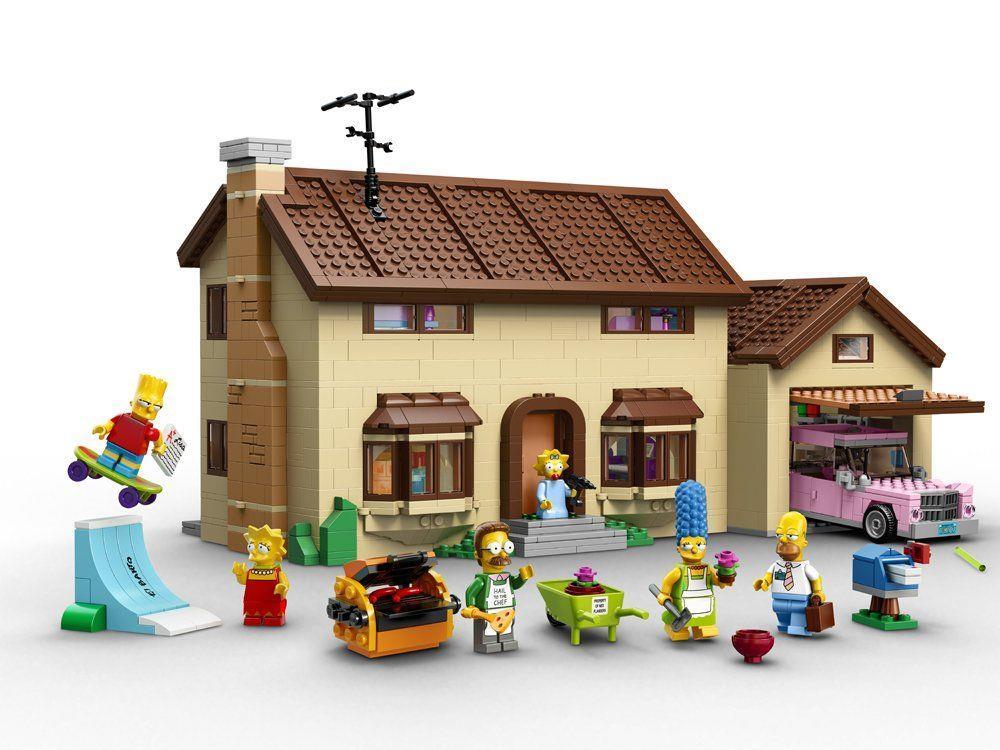Zu ihrem 25. Geburtstag: Simpsons als Lego-Figuren verewigt.