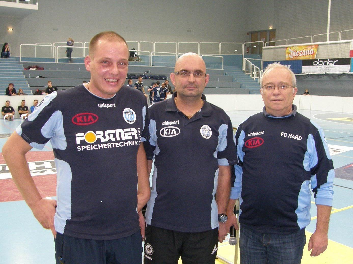 Markus Gartner, Markus Gritschacher und Obmann Gerald Kleiner vom OK-Team.