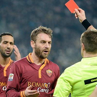"""Rote Karte für Romas """"Bad Boy"""" De Rossi"""