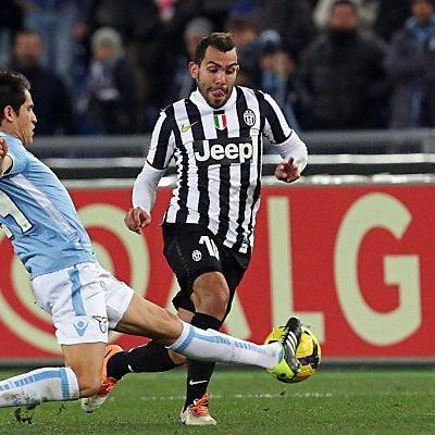 Lazio stellte Juve ein Bein