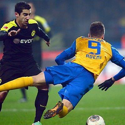 Arbeitssieg der Borussia in Braunschweig
