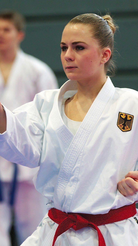 Nachwuchs Karatesport der Extraklasse in Hard.