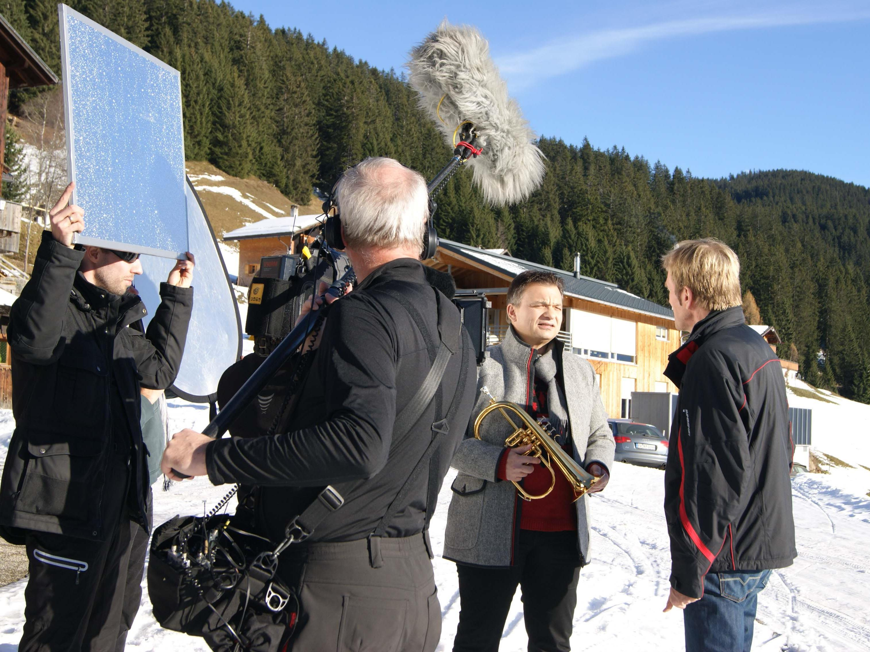 """""""Musikalische Reise ins winterliche Montafon"""" SWR Fernsehen: 03. Jänner 2014, 20:15 Uhr - 21:45 Uhr."""