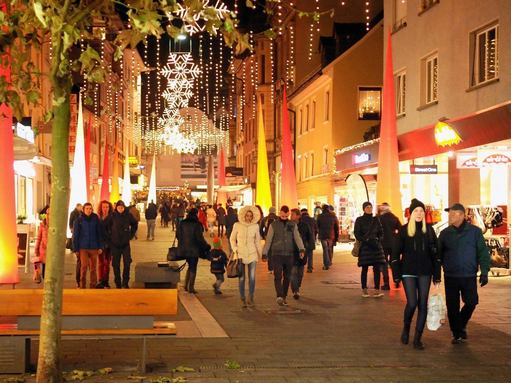 Lange Einkaufsnacht in Bregenz