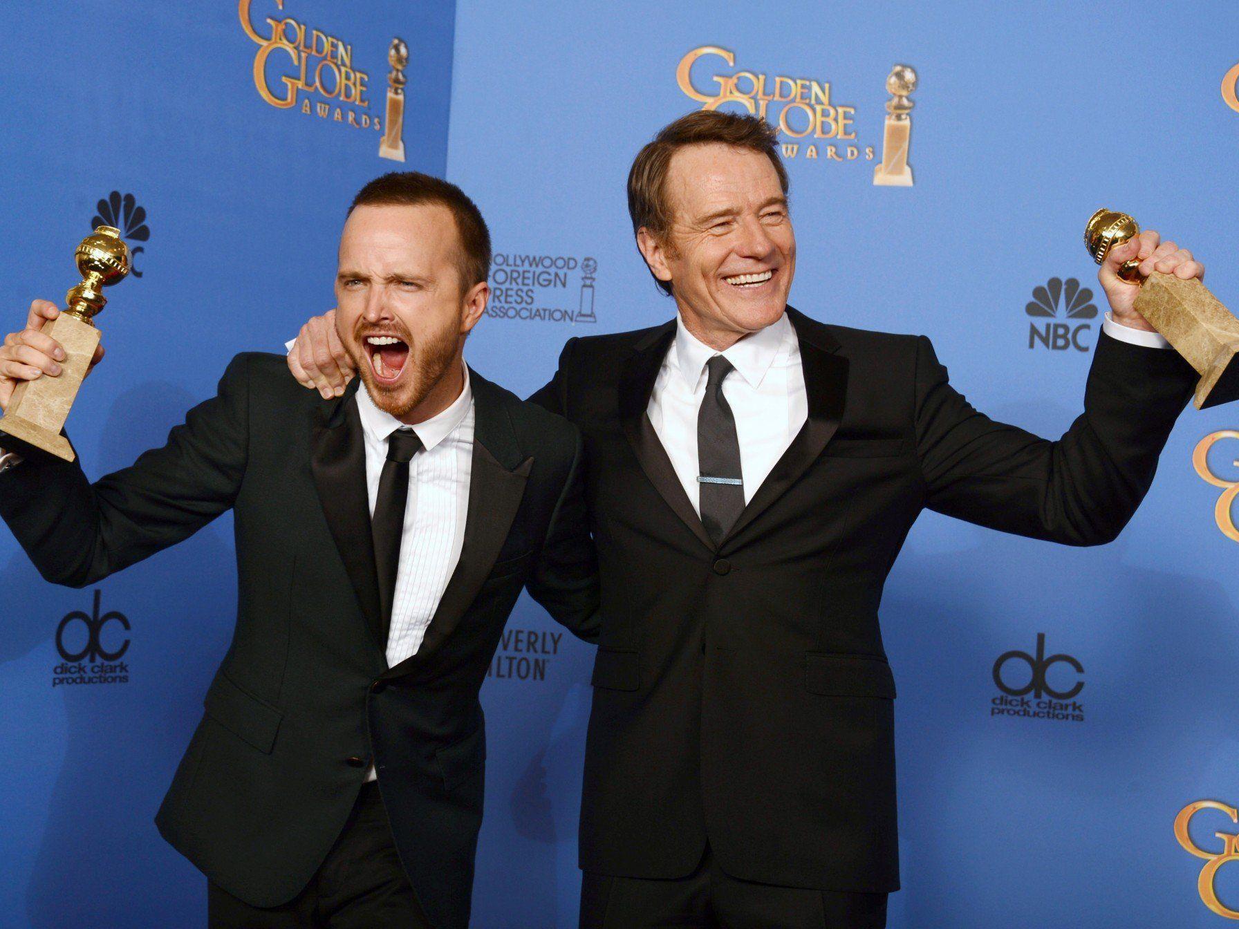 """Golden Globes für die TV-Serie """"Breaking Bad"""" als beste Drama-Serie."""