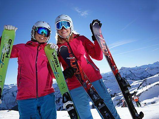 Über Neuschnee freut man sich in Vorarlberg.