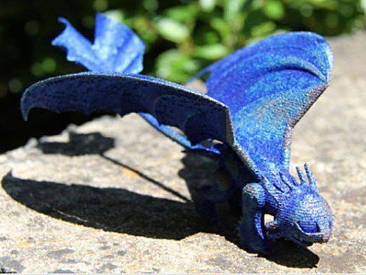 Ein Mädchen aus Australien bat australische Wissenschaftler um die Schaffung eines Drachen.