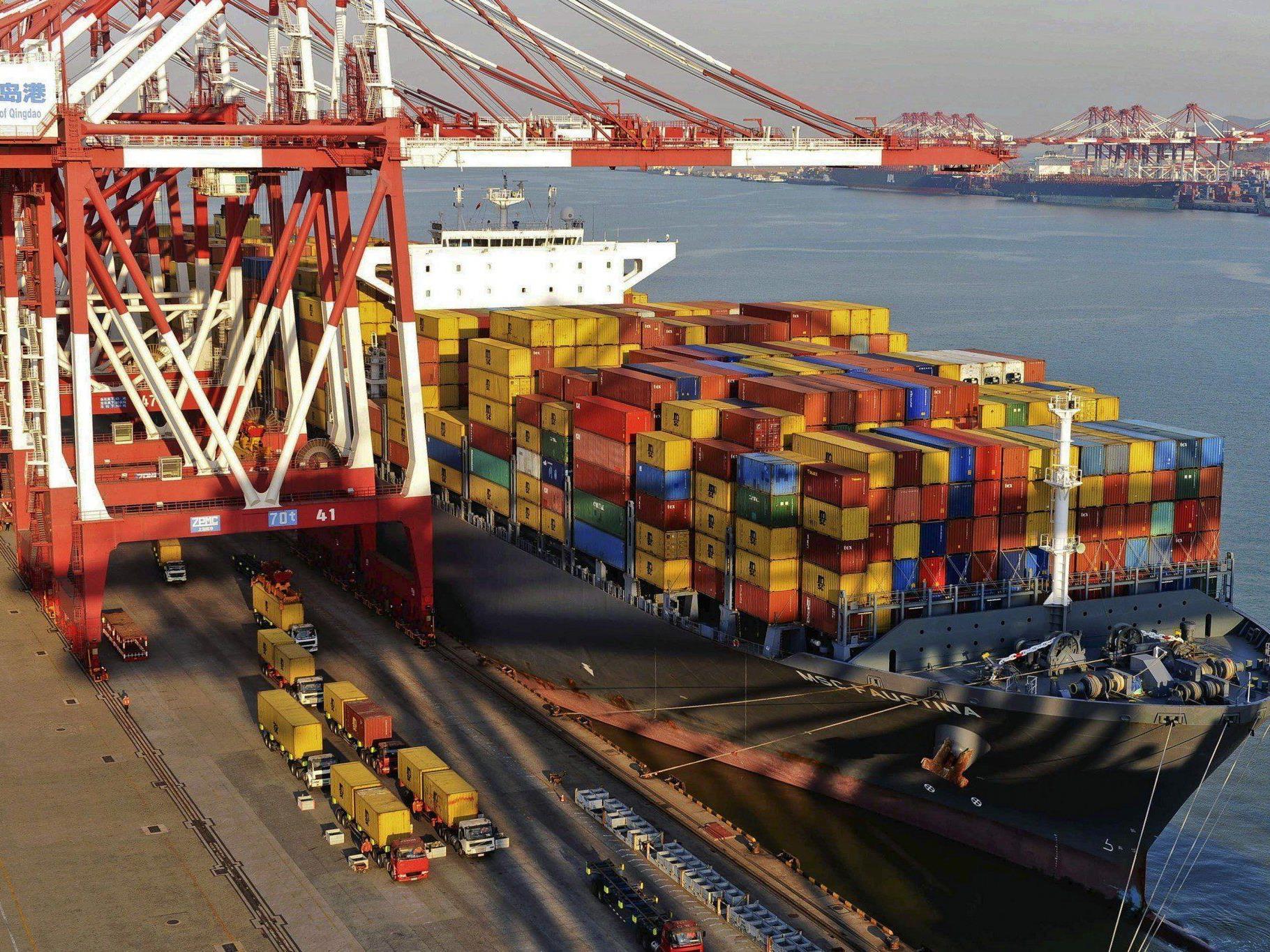 Außenhandel wuchs um 7,6 Prozent statt der von der Regierung angepeilten 8 Prozent.