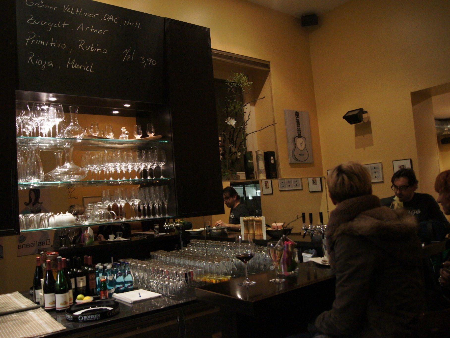 Gemütliche Atmosphäre im Café Elastisana.