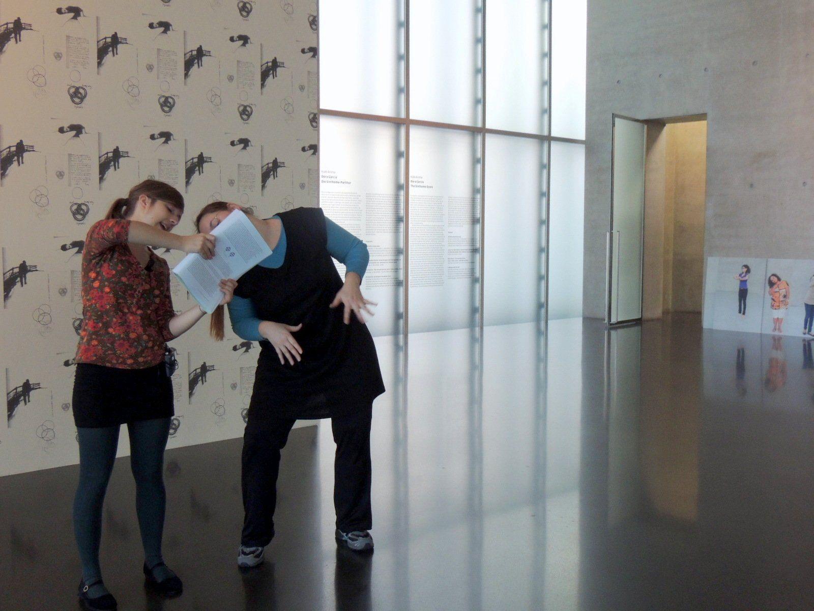 Performance  im Kunsthaus