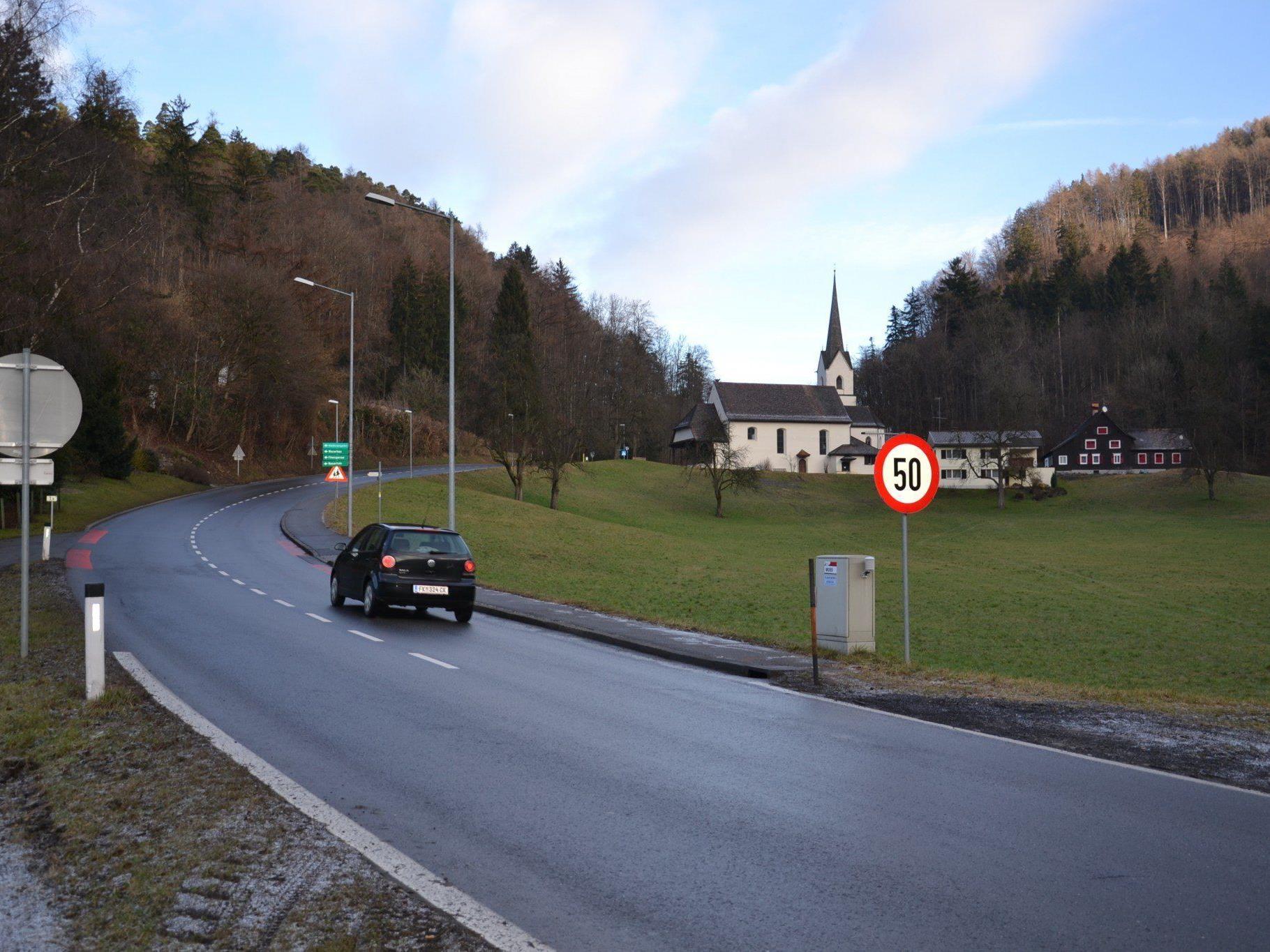 Im Bereich St. Arbogast haben die Grünen bereits im Herbst Tempo 40 gefordert. Nun wird die Gemeindevertretung befasst.