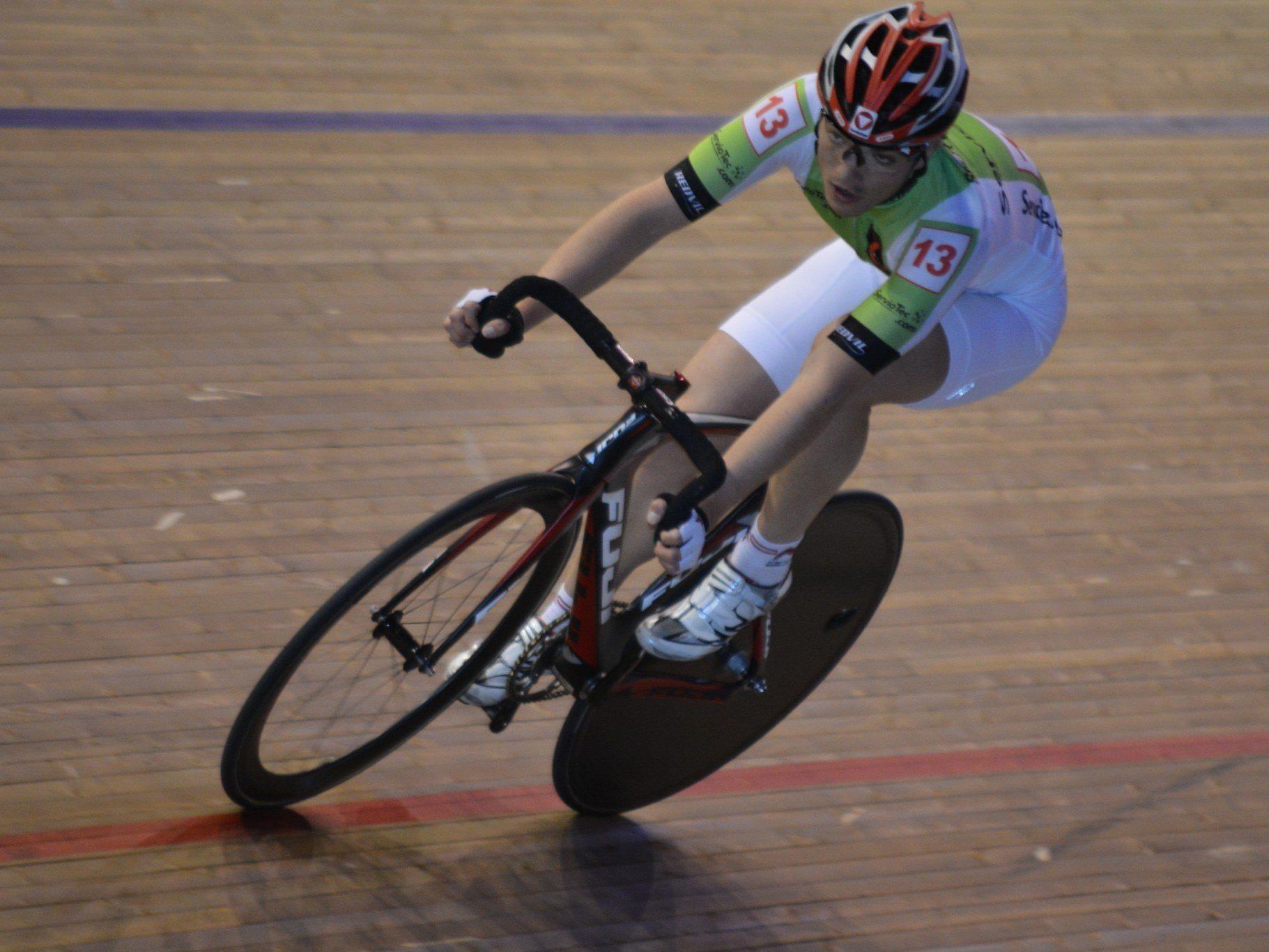 Mehrere Spitzenplätze erreichte der Hohenemser Tobias Wauch beim Sechstagerennen in Berlin.