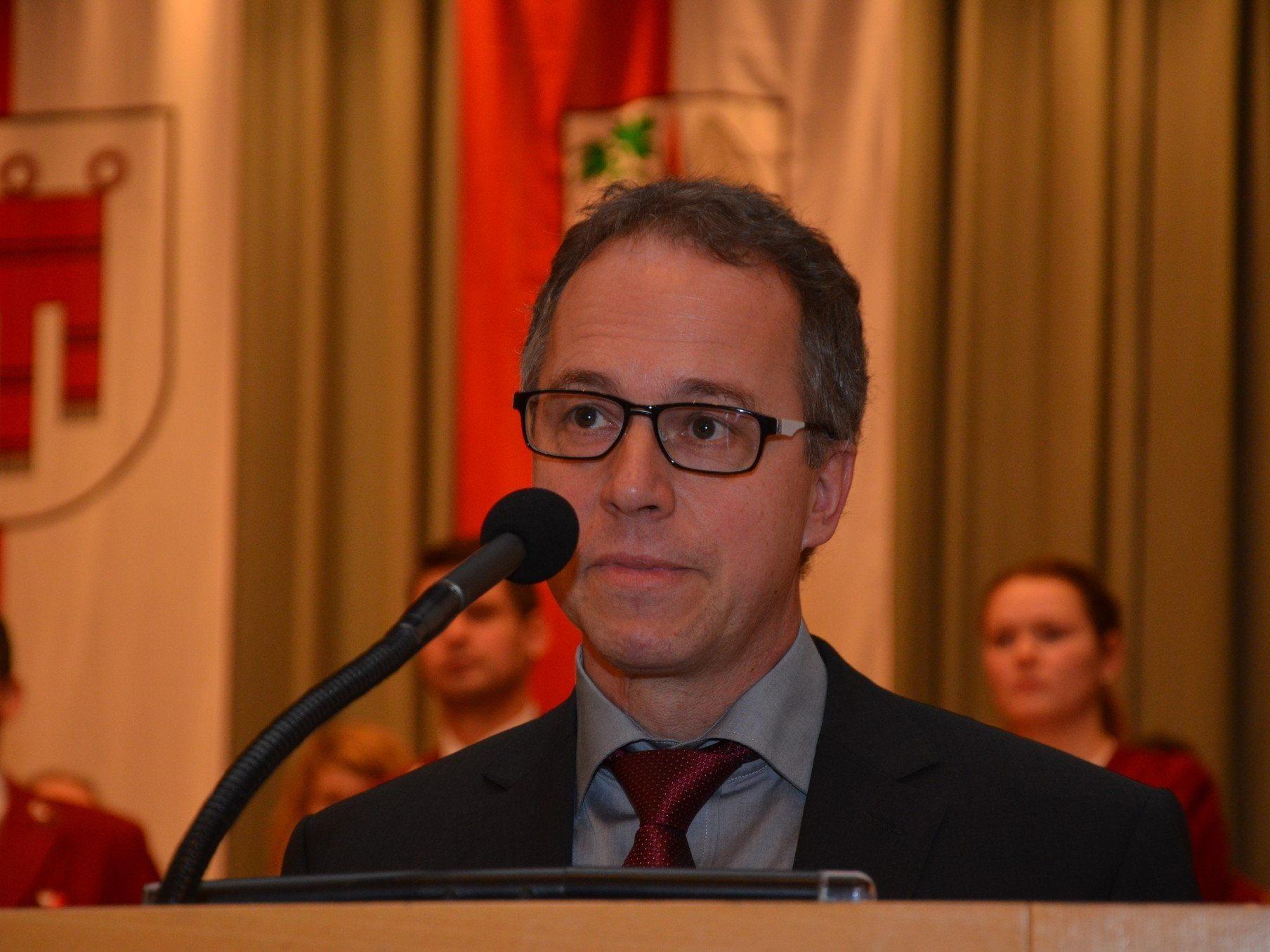 Neo-Bürgermeister und Obmann des Finanzausschusses Roman Kopf.