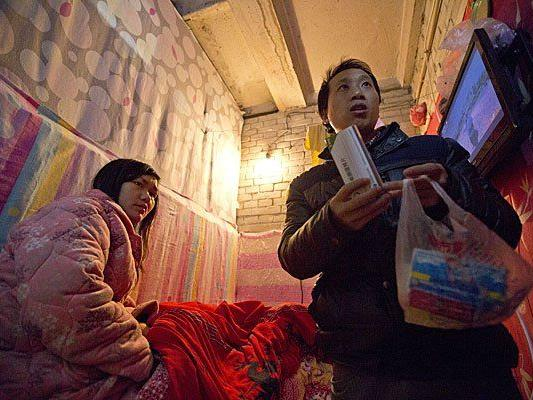 Gong Qifeng war im siebten Monat schwanger und wurde zu einer Abtreibung gezwungen.