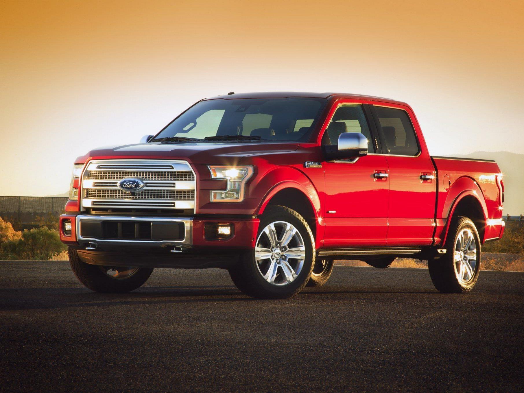 Ford will Amerikanern Pick-up aus Alu schmackhaft machen.