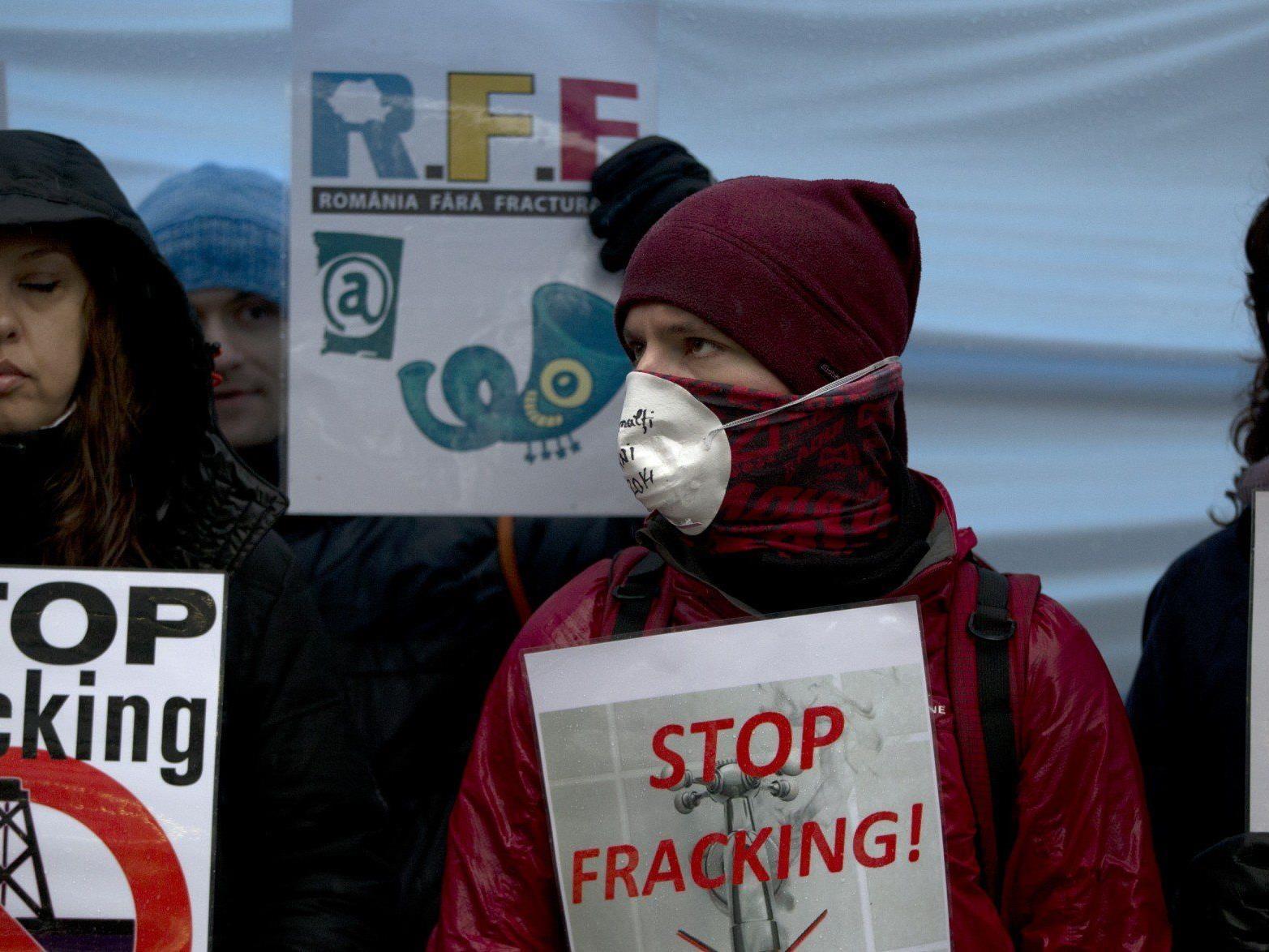 Fracking bewegt Europa - Immer mehr Menschen protestieren.