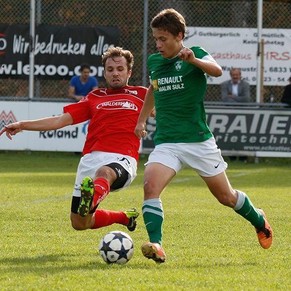 Zwei neue Spieler verzeichnet der FC Sulz in der Winterübertrittszeit.