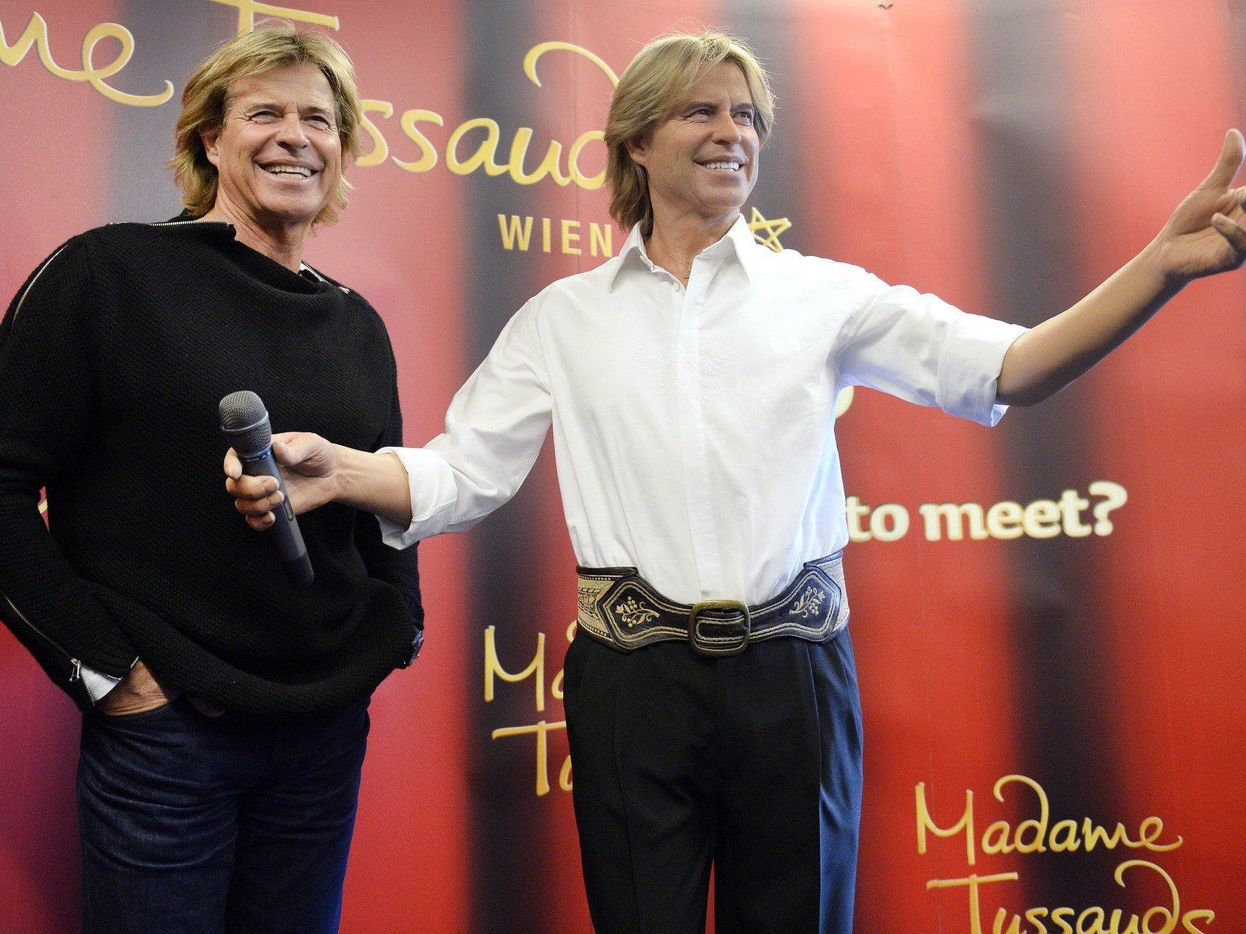 Hansi Hinterseer ist nun auch in Madame Tussauds als Wachsfigur zu sehen.