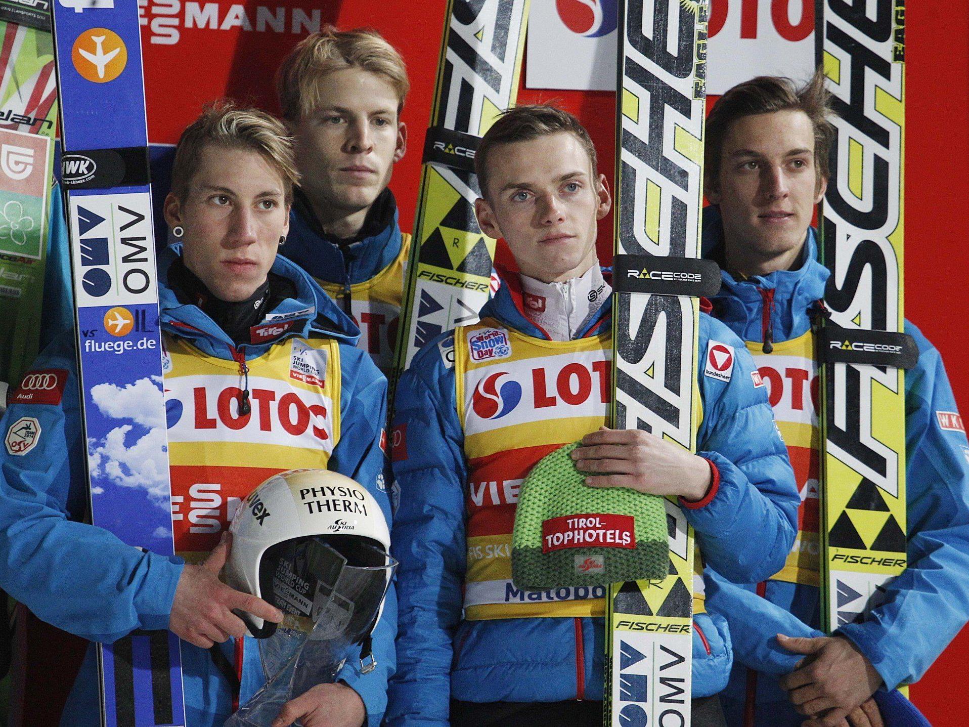 Schlierenzauer, Diethart und Hayböck werden nicht zu den Weltcup-Bewerben in Sapporo fliegen.