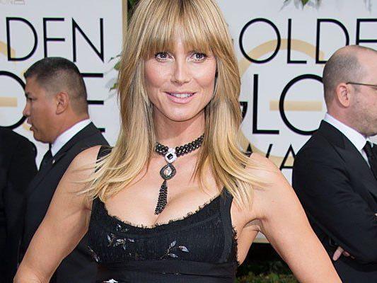 Topmodel Heidi Klum ist wieder zu haben.