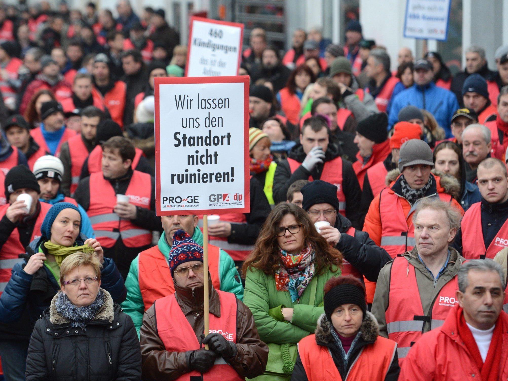 Vorerst kein Streik bei Koenig & Bauer in Mödling