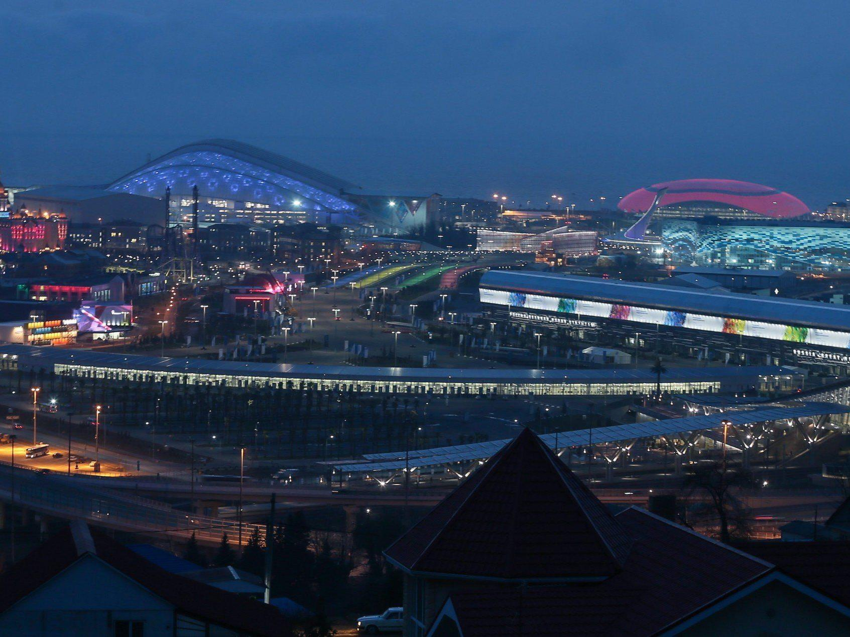 Sochi Olympic Park in Russland.