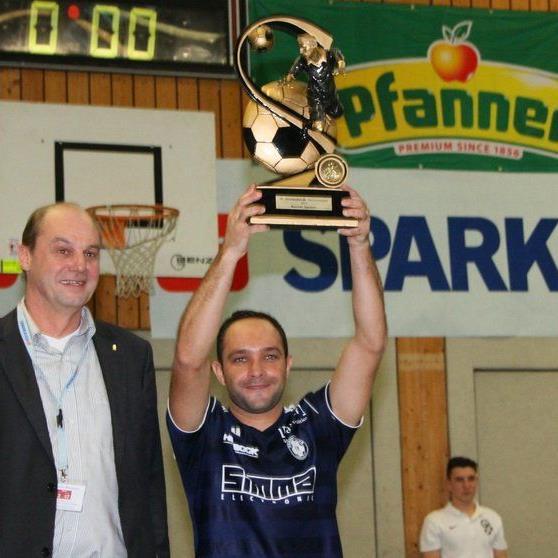Reinaldo Ribeiro war der beste Spieler des Turnieres und führte Andelsbuch zum ersten Masterssieg.