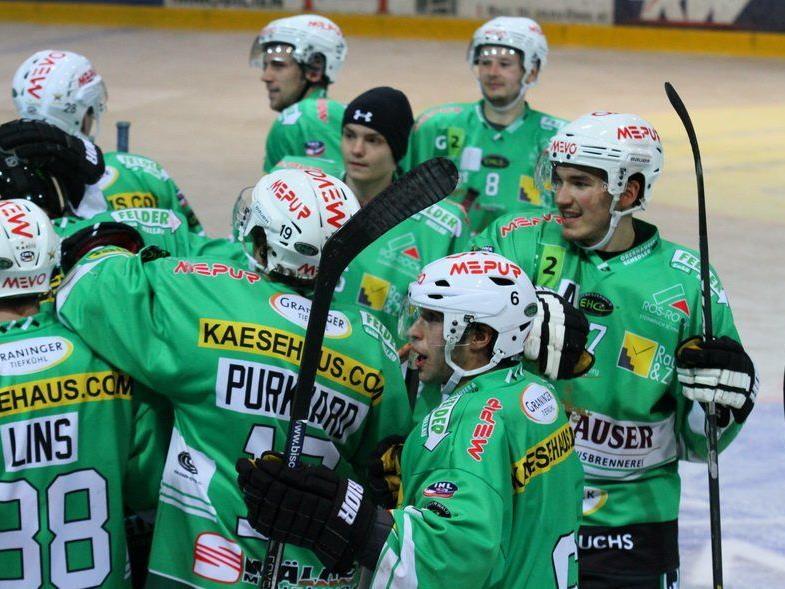 3:1-Auswärtssieg für den EHC Bregenzerwald in Laibach.