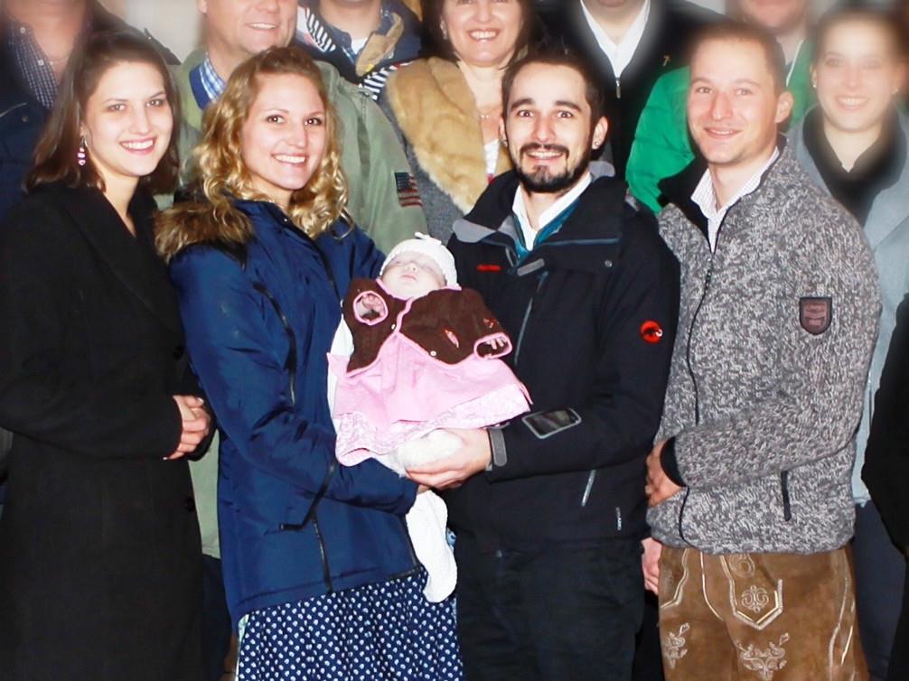 Taufe von Madita Emma Fleisch aus Vandans.