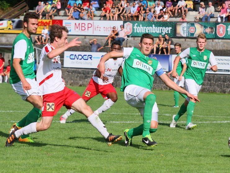 Simon Eiler war der Goldtorschütze im ersten Test von RW Rankweil gegen Höchst.