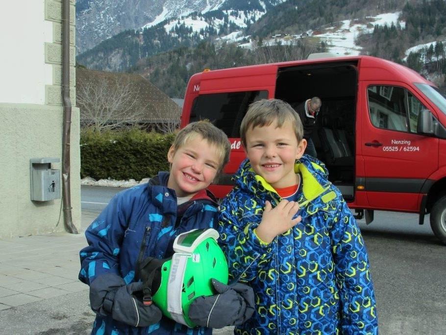 Die Kinder hatten sehr viel Spaß während der ganzen Woche.