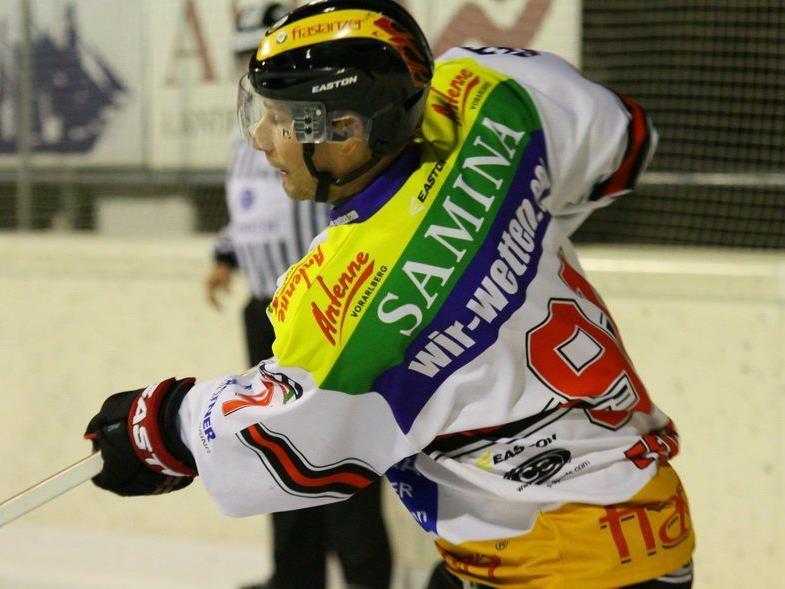 Daniel Fekete will mit der VEU Feldkirch beide Spiele in Slowenien gewinnen.