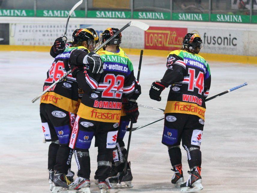 Die VEU Feldkirch will in Jesenice und Kranj jubeln und sechs Punkte holen.