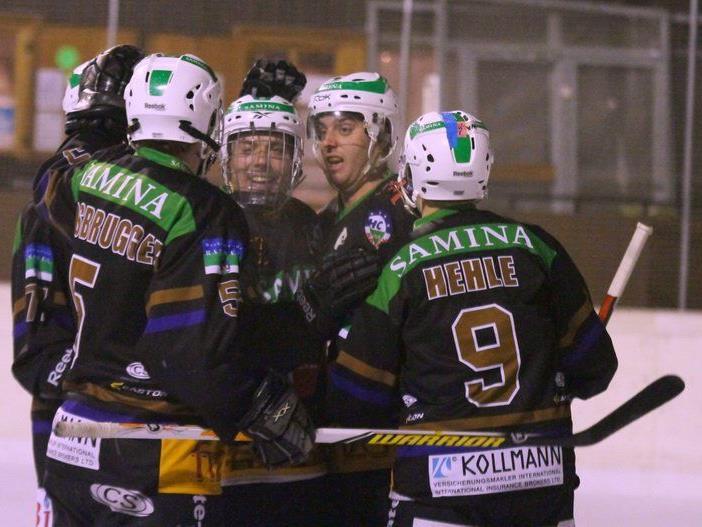 Jubel beim HC Samina Rankweil: Vierter Sieg in Folge und liegt man nach Verlustpunkten schon auf dem dritten Tabellenplatz.