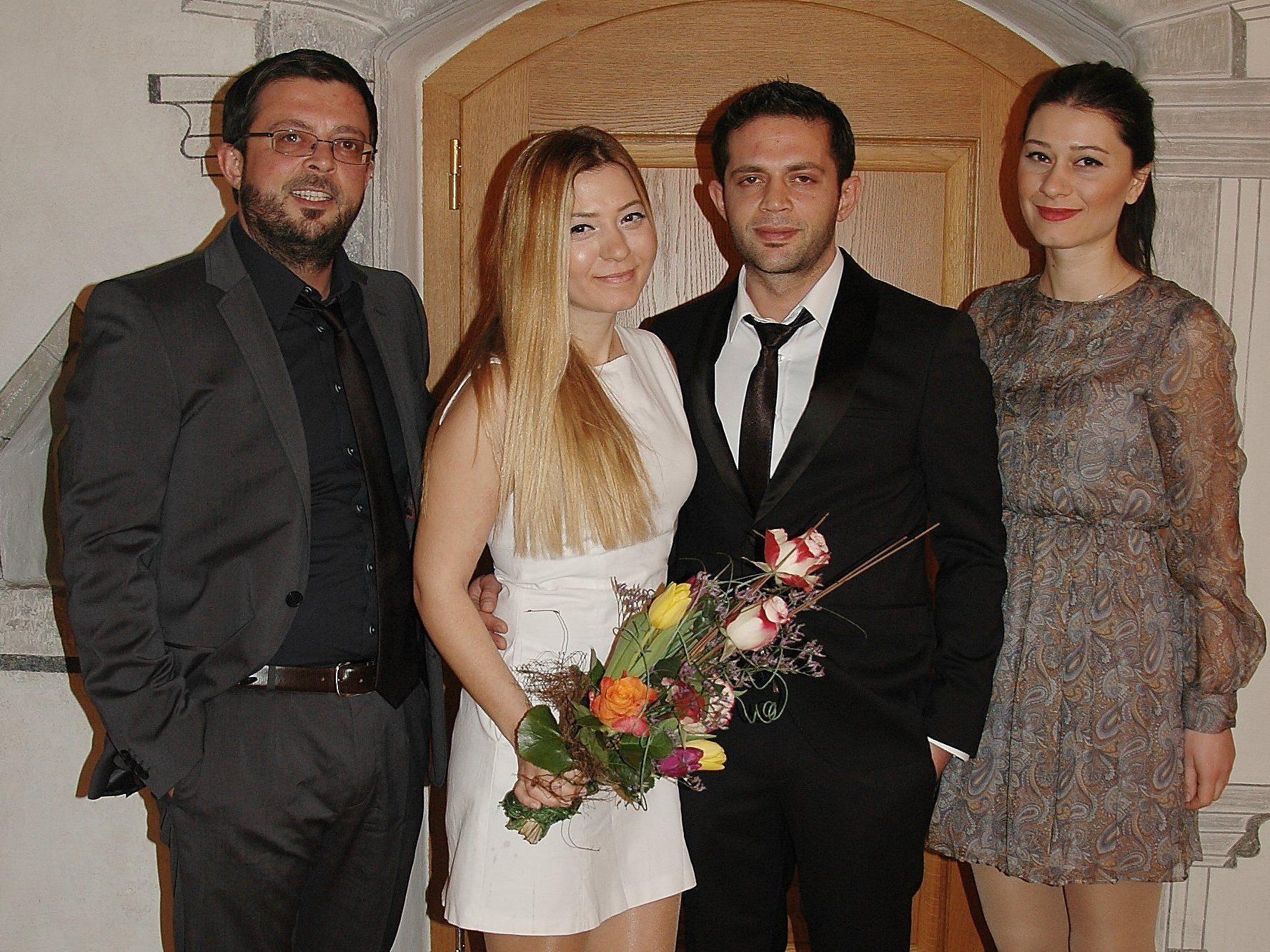 Melek Karabugday und Ibrahim Cakir haben geheiratet.
